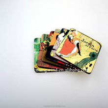 3mm sublimation wood mdf coaster,wood sublimation cork coaster set