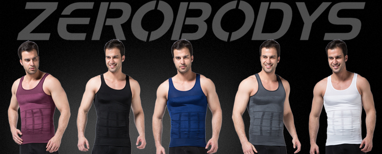 107 WH ZEROBODYS Incredible Men Body Slimming Shapewear