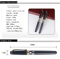 Customized logo luxury business pen heavy metal pen promotional carbon fiber ball pen for CEO