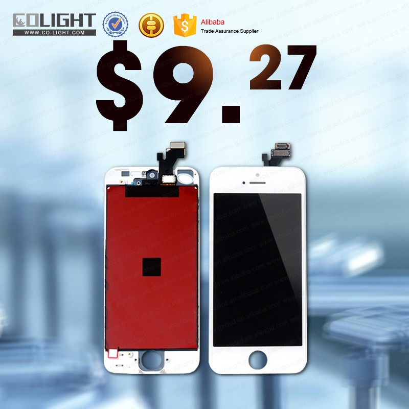 factory price for iphone 5 lcd AAA, for iphone 5 lcd display, display screen digitizer for iphone 5 with fast delivery