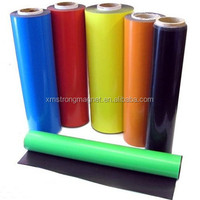 PVC rubber colorful strong flexible magnet sheet and rolls