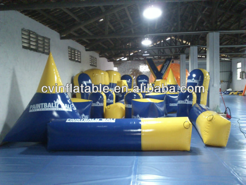 inflatable paintball air field