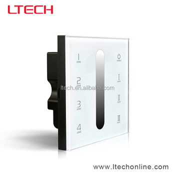 wall touch panel dimmer ,touch dimmer switch,touch pannel DMX master