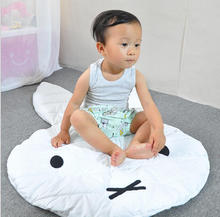 Folding cotton floor gym baby crawling mat