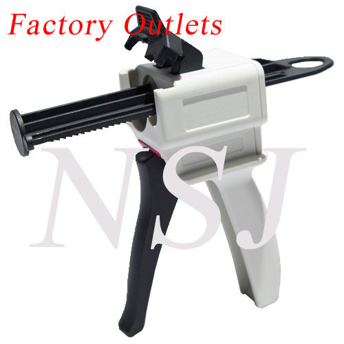caulking gun for Corian joint adhesive in 50ml 10:1 cartridge