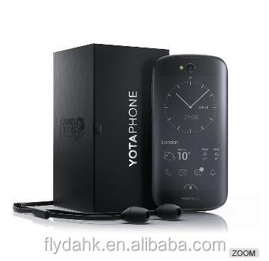 Original Smartphone Yota Yotaphone 2 Factory Unlocked Screen (E-ink on Back) 4G lte cell phone.