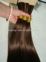 Top quality myanmar human hair weft for african american