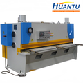 Shanghai HUANTU hydraulic cnc guillotine electric shearing machine