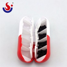 High Quality Hot Sale capsule shaped pill box