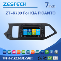 Car parts accessories touch screen car dvd gps for Kia PICANTO MORNING 2015 2016 multimedia stereo DVD player GPS navigation