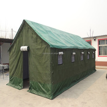 2-40Person Super Strong Waterproof Heavy Duty Canvas Tent,Green Color Canvas Army Tent Military Tent