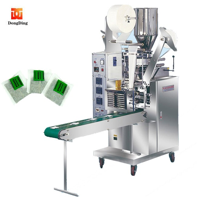 <strong>10</strong> <strong>g</strong> per bag High technical thread and tag tea bag packing machine
