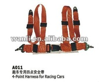 FIA super safety 4point harness for racing car(A011-1)