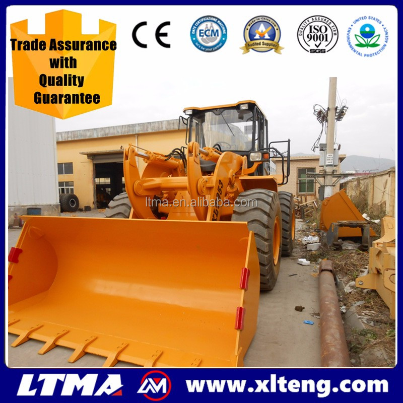 LTMA wheel loader zl50 5 ton tractor front loader price cheap