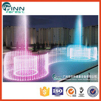 Music dancing pool water feature water park fountain