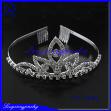 2017 High Quality Beautiful Artificial Stones New Arrival Wholesale Pageant Crowns And Tiaras