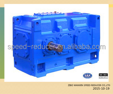 HB series helical bevel reduction gear box speed reducers for tunnel dryer / kiln