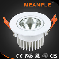 Wholesale custom promotional price lighting led round cob downlight for malaysia market