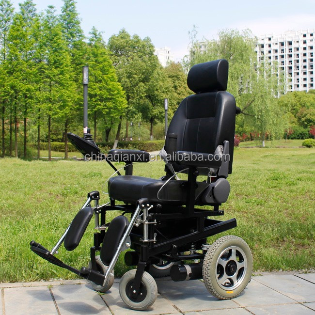 CE approved 104FL electric wheelchair with parts