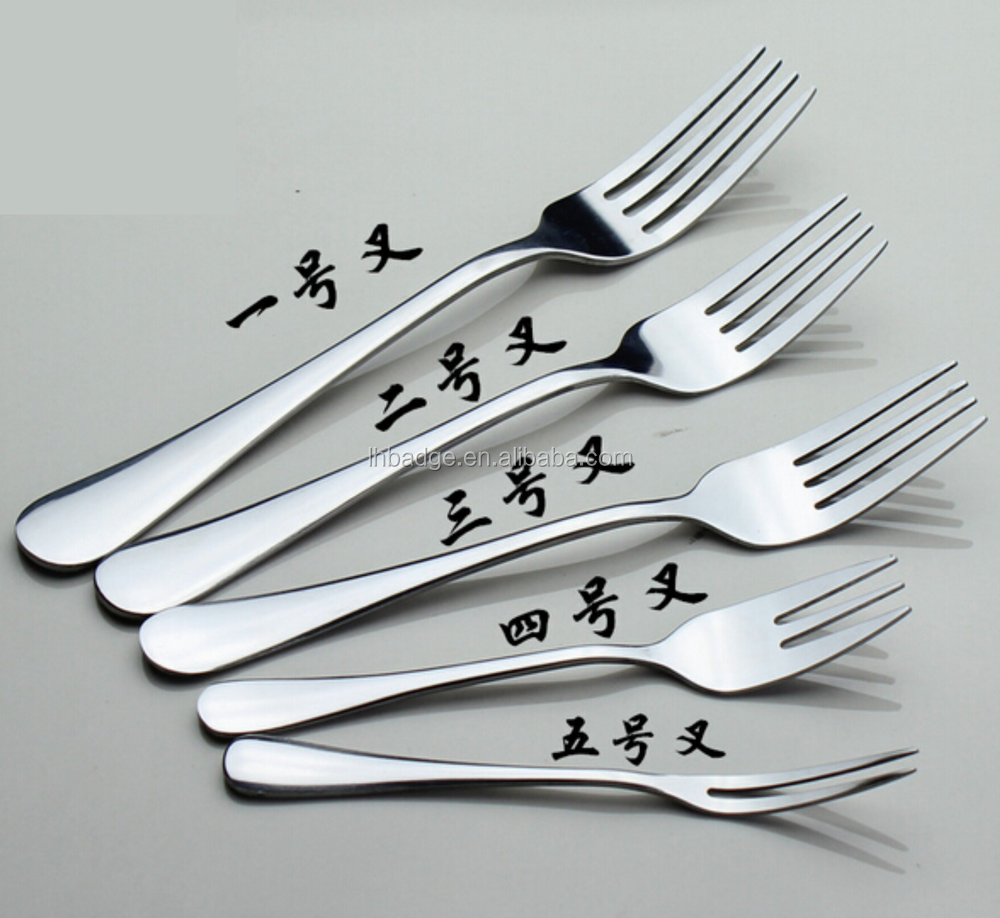 <strong>1010</strong> New Foodservice logo engrave <strong>Stainless</strong> <strong>Steel</strong> Bead Pattern Set of 12 Dinner Fork
