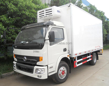 low price Dongfeng 5T refrigerator truck with durable engine