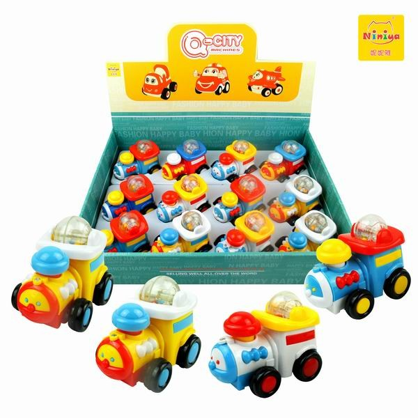 Q-CITY Plastic Car Pull Back Car Promotional Gifts Small Toy Car