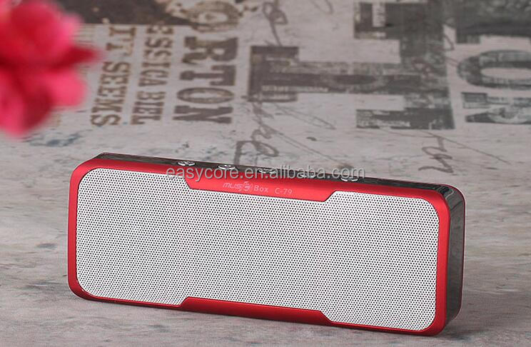 High quality bluetooth speaker portable wireless stereo speakerphone with power bank