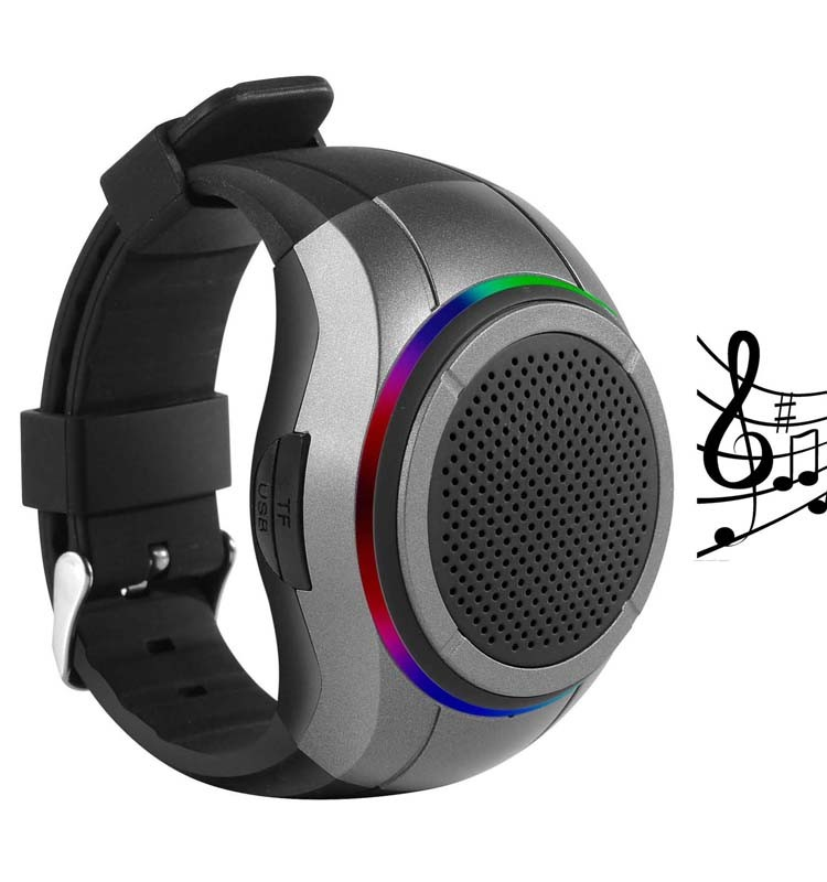 Frewico <strong>X10</strong> Innovative LED Portable Wireless Bluetooth Speaker Watch with TF USB FM radio MP3 Player, Handsfree Call, Self-timer