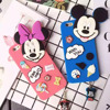 3D Cartoon Minnie Mickey Mouse Daisy Donald Duck Silicone Phone Case For iPhone 6 Plus Back Cover