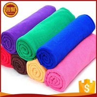 Hot sale in 2017 80%polyester 20%polyamide 400gsm microfiber cleaning clothe/car wash towel for car cleaning