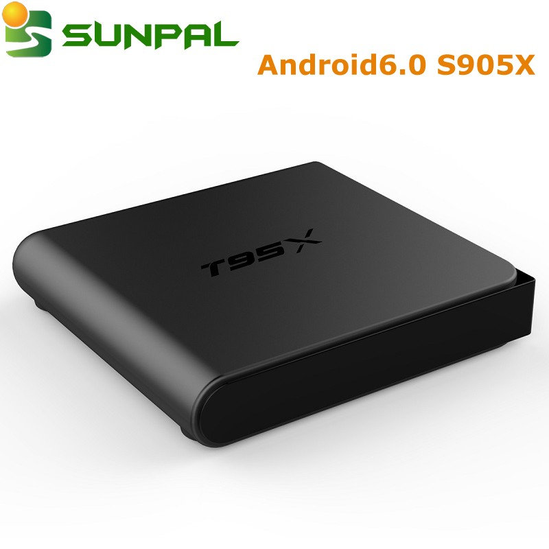 new arrival T95X cheapest android tv box 2g 8g s905x android 6.0 OS Marshmallow media Player Smart box Free Web TV T95 X