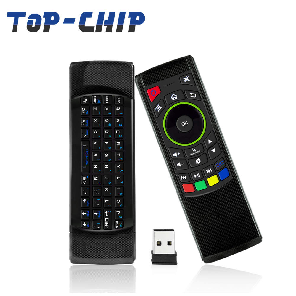 High Quality FM5s 2.4G Air Mouse Keyboard Wireless Remote Control for Andriod TV box/TV/Computer