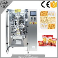 Automatic snack food filling and sealing packing machine