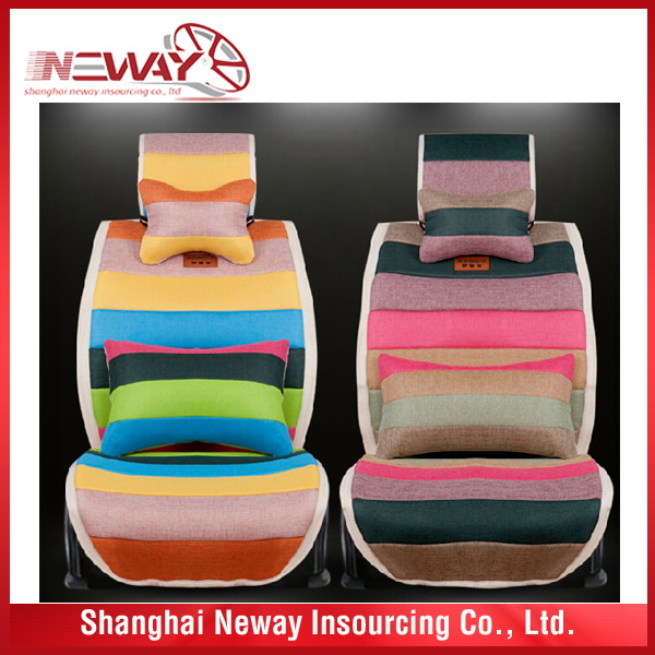 China good supplier best Choice full set women's car seat cover
