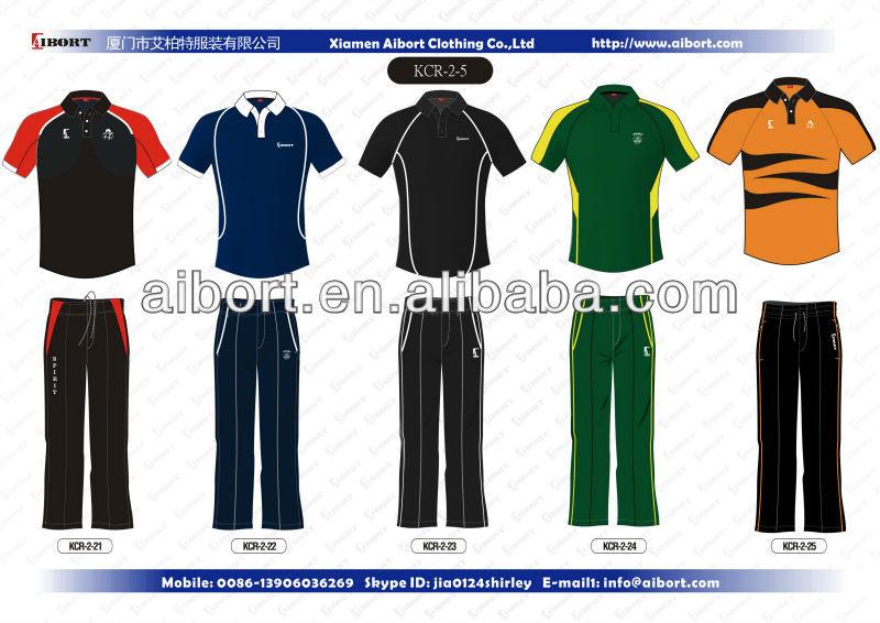Wholesale 2013 new design cricket suits(cricket shirts+cricket ...