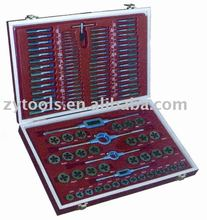 110 Piece DIN TAP AND DIES SETS