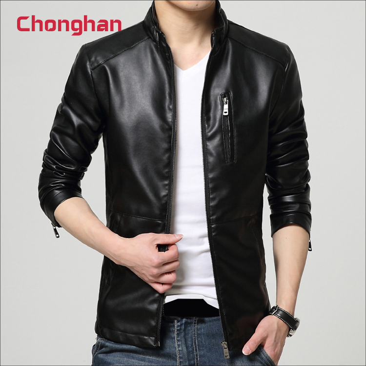 Chonghan Hot Selling Voorraad Veel Black Colour Multi Size Mannen Jas Kleding Apparel