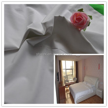 "china suppliler 110""/120"" 100% cotton sheeting fabric used hotel beds"
