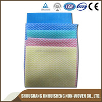 plain & cross spunlace nonwoven fabric for embroidery