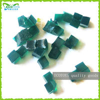 Dark green crystal soil in small pieces,Decorative water beads