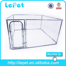 2016 wholesale galvanized tube chain link dog kennel dog show cage