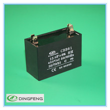 cbb61 450v 2pins polypropylene high voltage capacitor