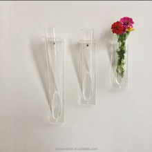 Clear Wall Mounted Acrylic Flower Stand,Acrylic Flower Rack