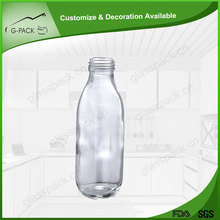 Decorative fashion glass container
