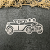 Jeep Car Shape Etching Stencil Paper Cutting Die for Scrapbooking Card Making