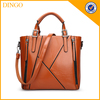 wholesale ladies fashion elegance PU leather satchel woman hand bag at low price
