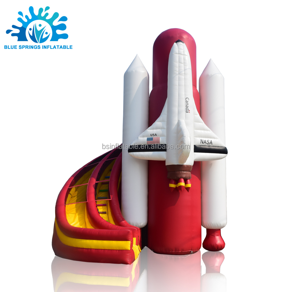 Blue Springs Factory 0.55mm PVC Rocket Inflatable <strong>O</strong> Slip and Slide