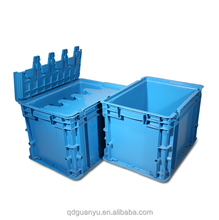 wholesale industrial plastic stacking totes box 400*300*280