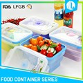 Best quality various kinds silicone airtight food container