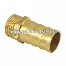 Dongguan factory price oem brass / bronze / copper tube connector,male and female water hose connectors